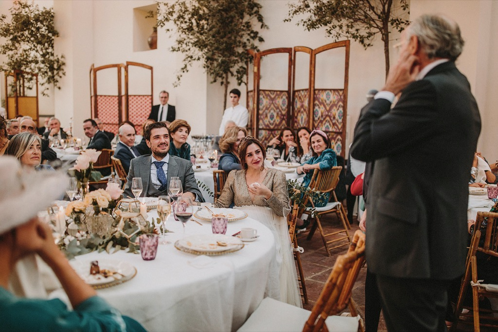 discurso speech bodas wedding
